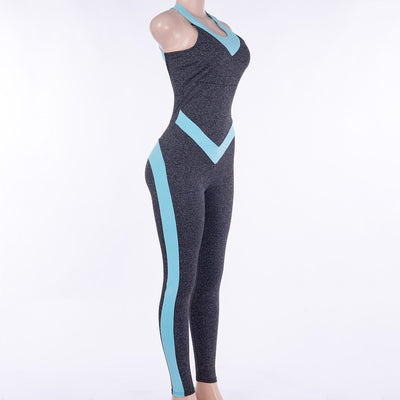 Women Suit Female Yoga One piece Jumpsuits Running Clothes
