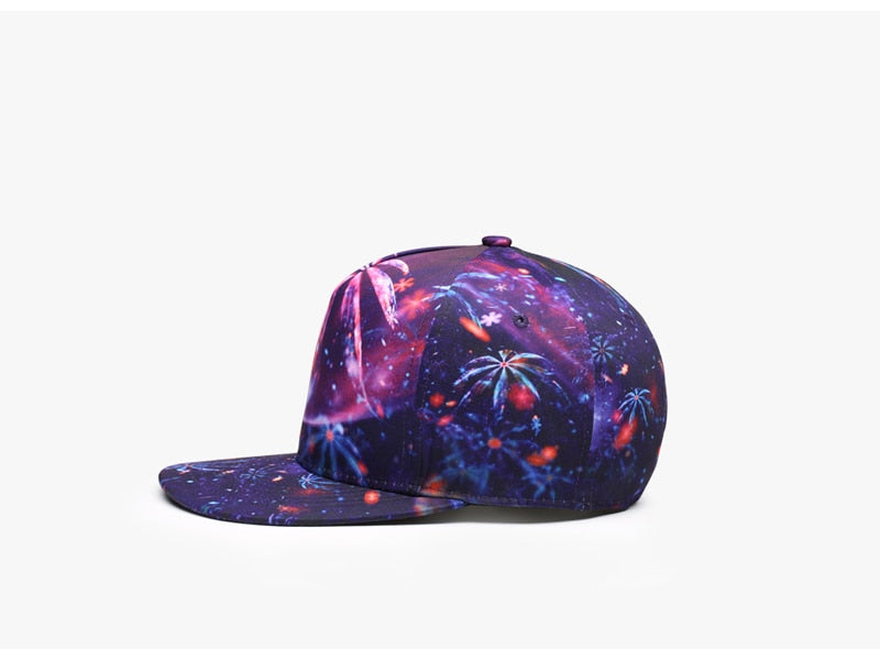 Quality 3D Printing Women Men Baseball Cap