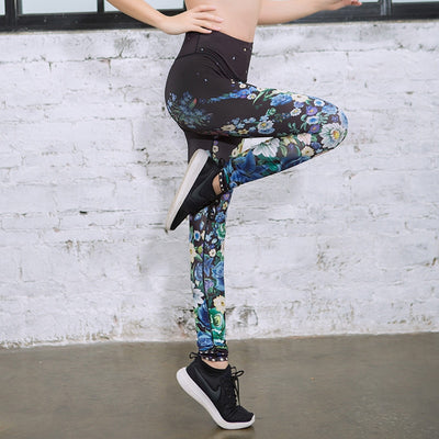 Womens Yoga Pants Sexy Sports Fitness Leggings For Female