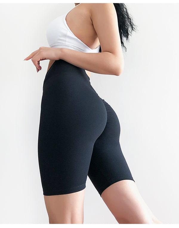 Sexy Scrunch Sport Gym Long Shorts Women Quick Dry