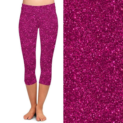 Summer Fashion Color Women 3d Galaxy Digital Print High Waist Capri Leggings Elastic Trouser Casual Leggings