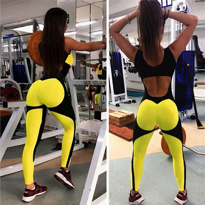 Women Sport Suit Female Yoga Set Mesh Gym Wear Running Clothing