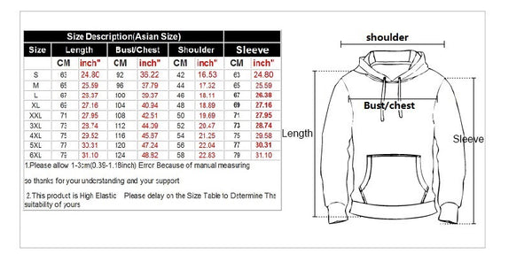 Fashion Autumn Winter Thin 3d Sweatshirts Men/Women Hooded Hoodies Print Wolf demon Hoody Pullover
