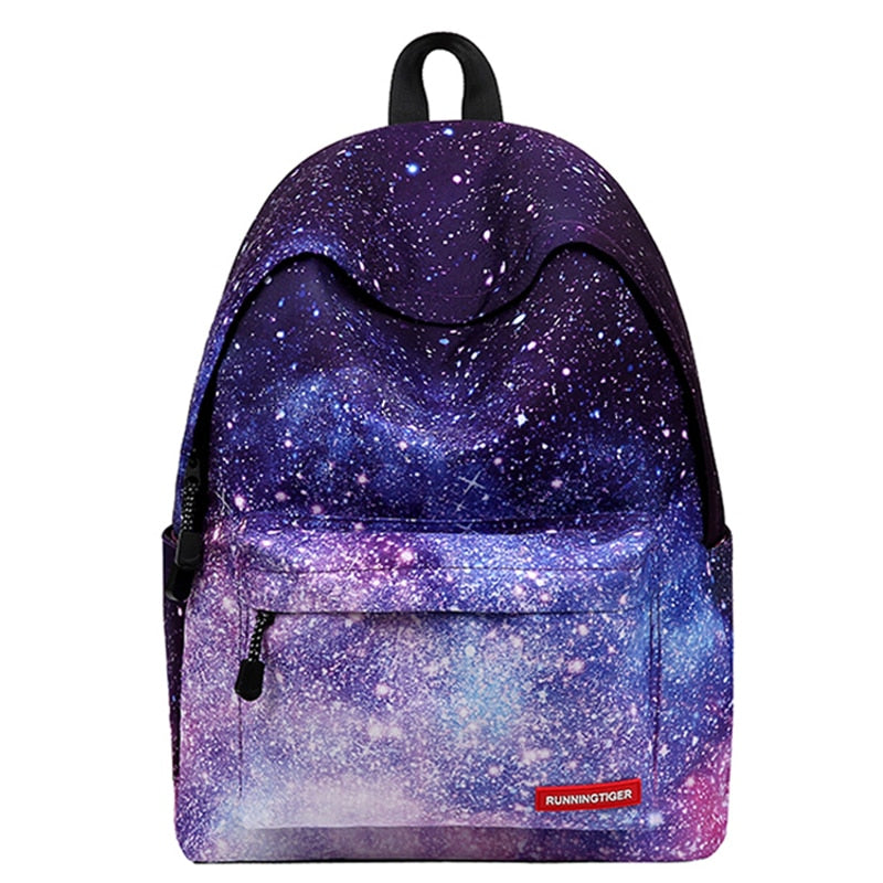 Starry Sky School Backpack Bags for Teenage Girls 2019