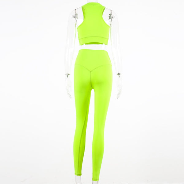 Yoga Set High Waist Tummy Control Women's Tracksuit Runing Fitness