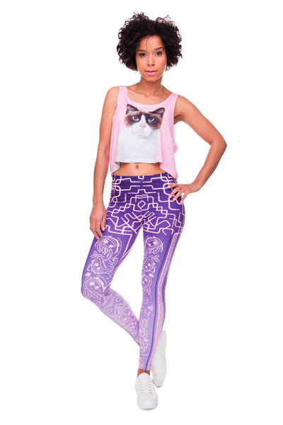 High Elasticity Bandana Printed Womens Fashion Slim Fit Legging Workout Trousers Casual Pants Leggings