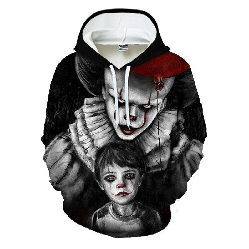 haha joker 3D Print Sweatshirt Hoodies Men and women Hip Hop Autumn Streetwear Hoodies Velvet Sweatshirt For Couples Clothes