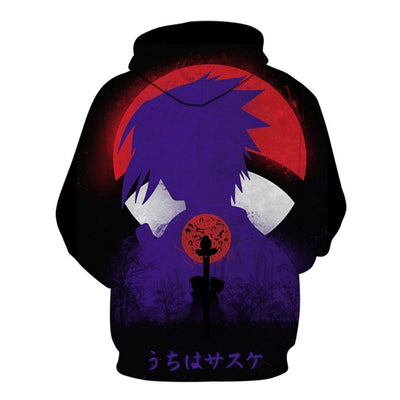 Hoodies Unisex Naruto Harajuku Japanese Anime Uchiha Itachi Printed Men's Hoodie Male Streetwear Fashion Casual sweatshirt Coat