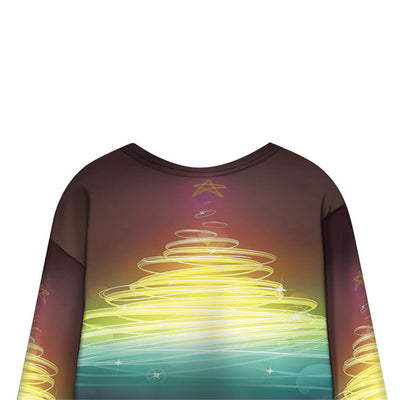 Women Harajuku Loose3D Digital Printed Sweatshirt