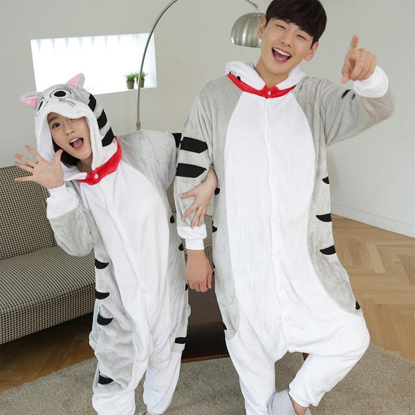 Kigurumi Unicorn Pajamas Sets Flannel Animal Suits