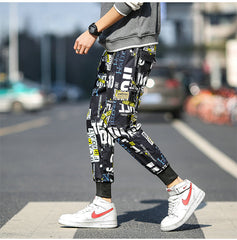 Streetwear Cargo Pants Men Hip Hop Pants Mens 2020 Autumn Harem Pant Harajuku Jogger Sweatpant Casual Trousers Male Pants
