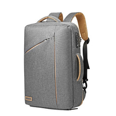 Use Backpack Hand Bag With Password Lock Business Back Bag Luxury 15.6' Laptop Anti-Theft Waterproof Brief Case Travel