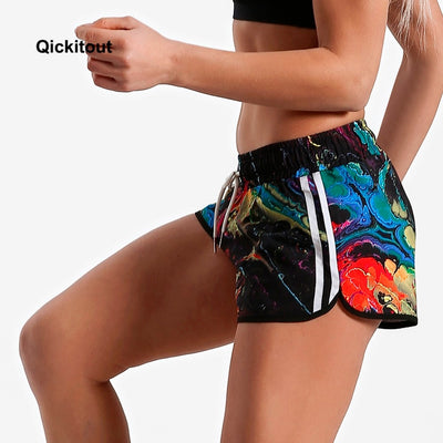Big Size Fashion New 16 styles Color elastic casual shorts women Sportswear Loose Fitness shorts Summer styles Beach