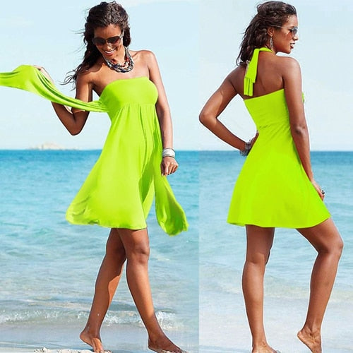 Popular Convertible Women's Summer Beach Dresses