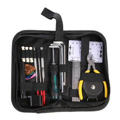 Instrument Maintenance guitar Repair tools Cleaning Tech Tool Kit for Guitar Bass Parts Guitar Repairing Tool Kit Accessories