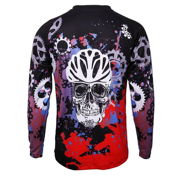 Long Sleeve MTB Bike Shirt Quick-Dry Racing Sports Wear