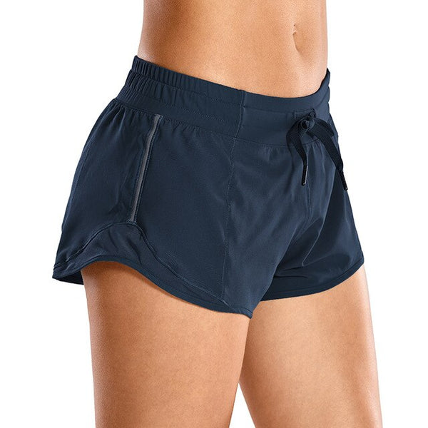 Quick-Dry Loose Running Shorts Workout Shorts for Women