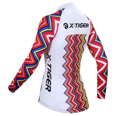 Woman Cycling Jerseys Long Sleeve Quick-dry