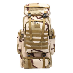 Large Capacity 80L Backpack Camouflage Outdoor Bag Travel Mountaineering backpack mochila feminina mochilas escolares