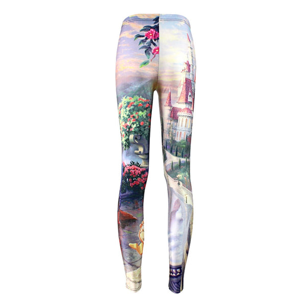 Plus size Summer leggings Women Hot Leggings Digital Print Popular Beauty