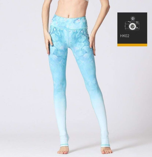 Printed Yoga Pants Women High Waist Yoga Leggings for Fitness Sports Tight Pants