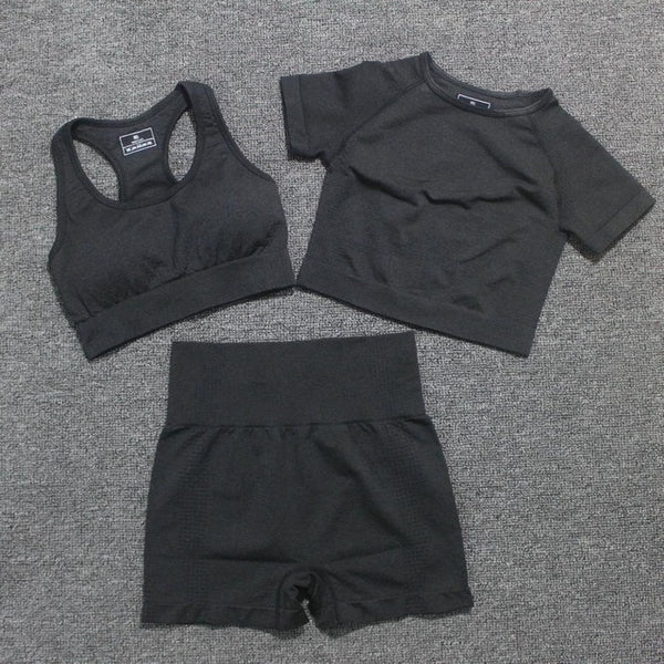 vital seamless yoga set gym set women workout clothes for women active wear sport suit