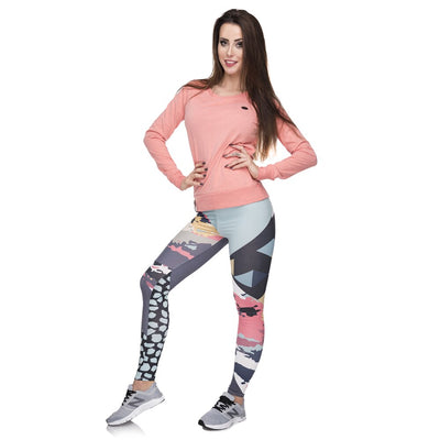 New leggins mujer Modern Camo Printing legging sexy feminina leggins fitness Woman Pants workout leggings