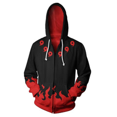 Naruto Hoodies Zipper Sweatshirt 3D Hoody Cool Anime Hooded Sweatwear Out Jackets Men Women Casual Coats Streetwear Jackets