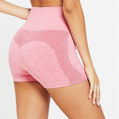 Energy Seamless Stretch Short High Waist Push Up Joggers Sport Women