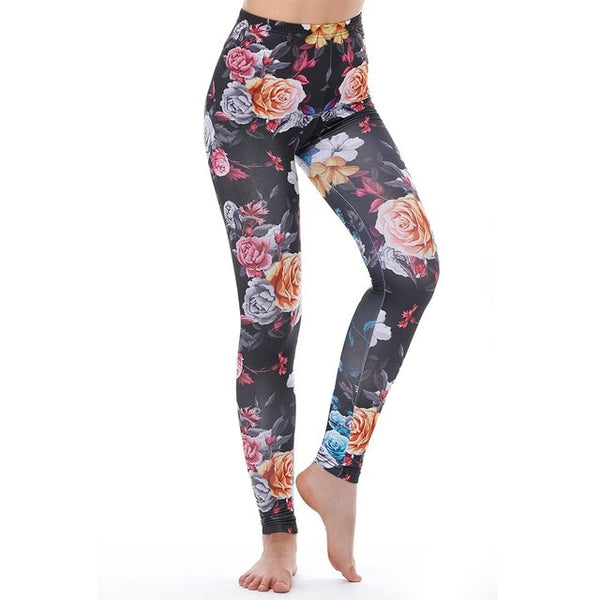 Unicorn Leggings Women Leggins Fitness Legging Sexy Pants 3d Printed Rainbow Star Cat Donuts
