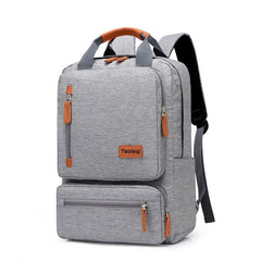 Adisputent Casual Business Men Computer Backpack Light 15.6-inch Laptop Bagpack New Lady Anti-theft Travel Backpacks Gray