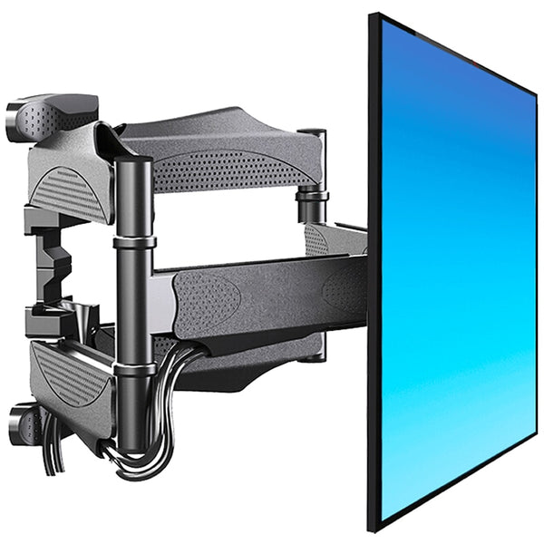 TV Wall Mount Swivel Tilt TV Bracket Soporte Monitor Holder TV Rack with Full Motion Articulating Extension Arms