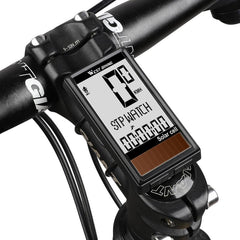 Wireless Solar Cell Bicycle Computer MTB Road Bike Waterproof Backlight Speedometer Odometer Stopwatch Cycling Equipment