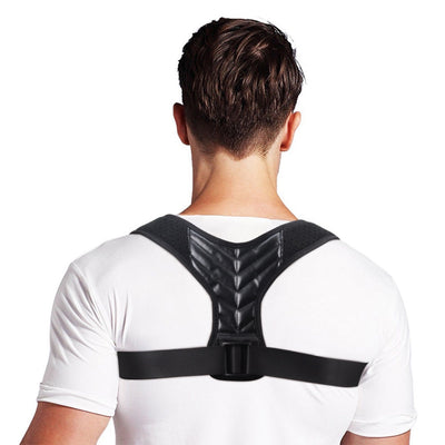 Adjustable Back Posture Corrector Wrist Brace Clavicle Spine Back Shoulder Lumbar Prevents Slouching Injury Aid Sport