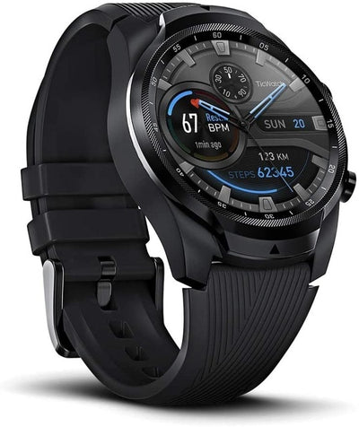 Pro 4G/LTE US-Verizon 1GB RAM Dual Screen Sleep Tracking Swim-Ready IP68 Waterproof NFC Google Pay Long Battery Life