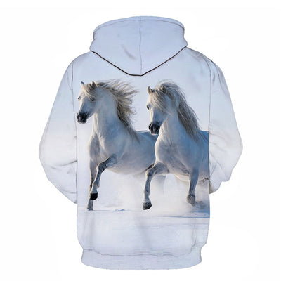Horse Win Instant Success 3D Print Hoodies Interesting implication Animal Design Men Women Streetwear Pullover Casual Sweatshirt