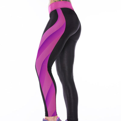 Women's 3D Cartoon Cat Digital Printed Sports Yoga Gym Pants