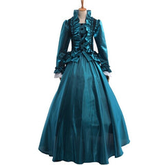 Women Masquerade Dress Renaissance Gothic Ball Gown Party Dancing Costumes