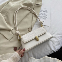 Stylish Mini Bags Women's Bag New Style Messenger Bag Fashion Casual All-match Stone Pattern Female Shoulder Underarm Bag