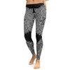 Printed Leggings Women Plus Size S-5XL Workout Legging Spandex High Waist Leggins