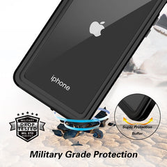 2M IP68 Waterproof Case for iPhone 11 Pro Max XR X XS MAX SE Shockproof Outdoor Diving Case Cover For iPhone 7 8 6 6S Plus 5 5S