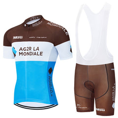 Pro Team Cycling Clothing 9D Set MTB Uniform France Bicycle Clothes Quick Dry Bike Jersey Mens Short Maillot Culotte