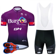 Pro Team France Cycling Clothing 9D Set MTB Uniform Bicycle Clothes Summer Quick Dry Bike Jersey Mens Short Maillot Culotte
