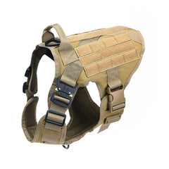 Tactical Dog Harness Pet Training Hunting Dog Vest Metal Buckle German Shepherd Dog Harness With Leash For Small Large Dogs