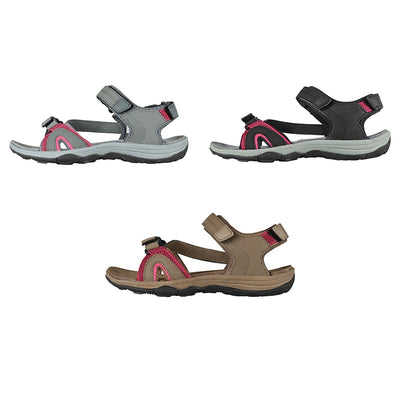 Women Sandals Summer Soft Platform Casual Non-slip Lightweight Flat Heel Female Outdoor Sandals Beach Shoes Plus Size 41
