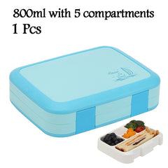 Lunch Box For Kids Bento Box Microwavable Food Container Student Children Storage Box Leakproof Tableware Bento Accessories
