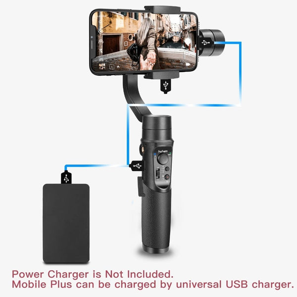 3-axis handheld gimbal stabilizer payload 280g for smartphone Pk Zhiyun Smooth 4  iSteady Mobile Plus