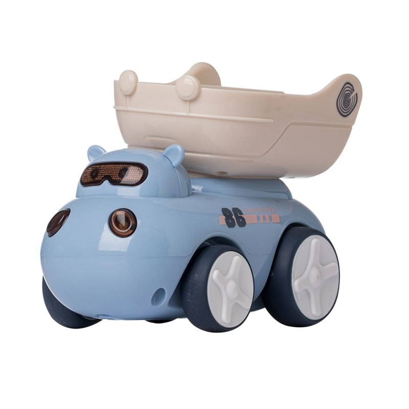 Kids Hippo Transport Car Toy Car With Tractor Sound  Friendly Plastic Transport Toys Cars For Kids, Boys & Girls New