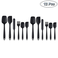 6 Pcs Kitchenware Spatula Sets Cooking Tools Scraper Spoon Brush Soft Silicone Baking Cooking Accessories Kitchen Utensils