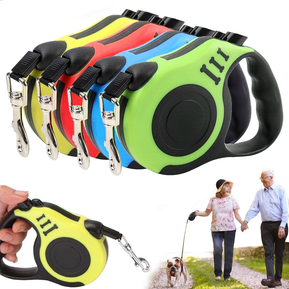 Lead Walking Pet Dog Leash Dog Traction Rope Pet Telescopic Leash Dog Supplies  Dog Rope Pet Puppy Extending Traction Leash